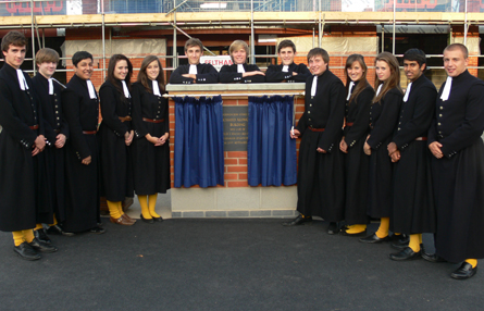 Senior prefects in Blue Coats