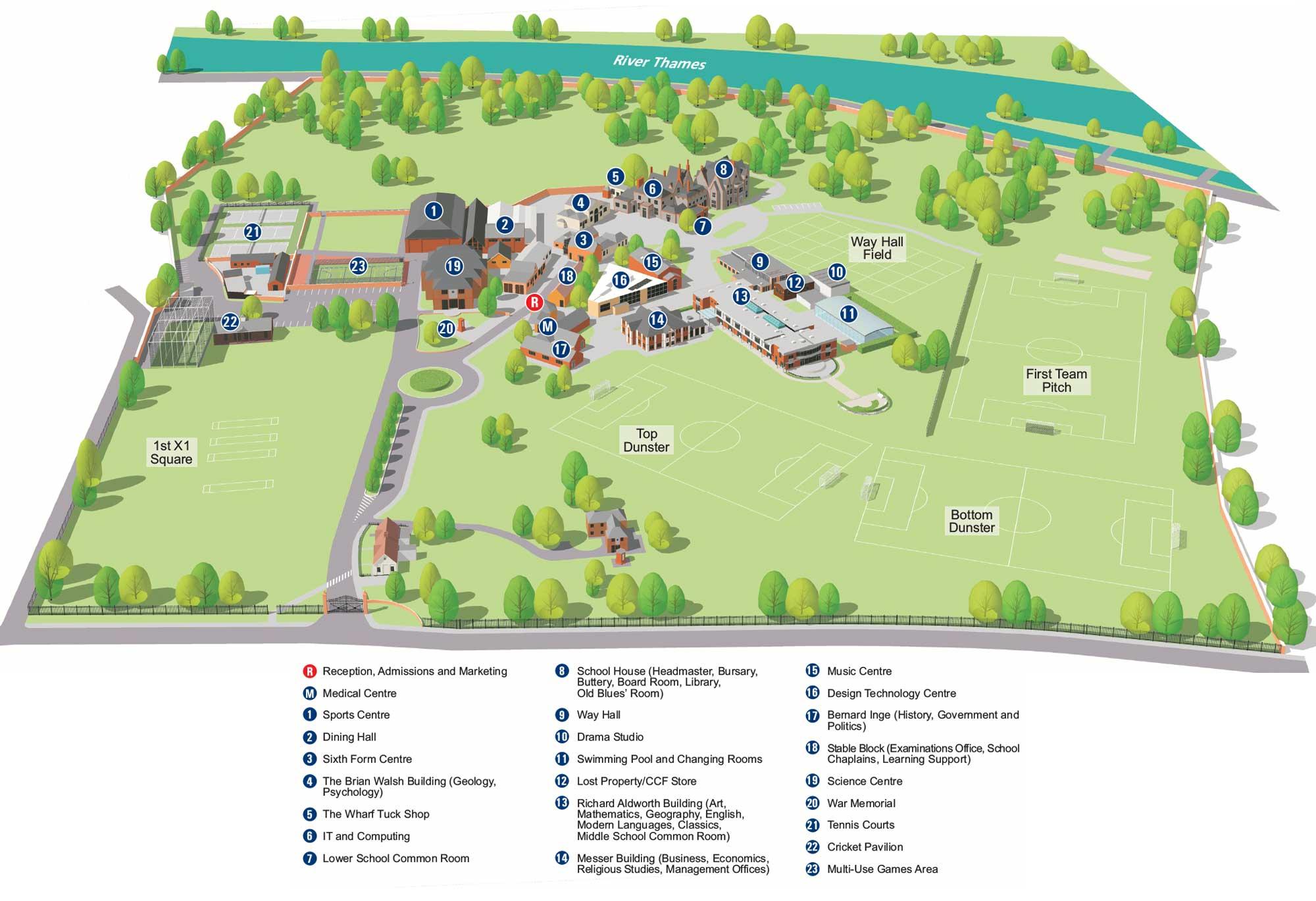 Classroom Building Design ~ Facilities reading blue coat school