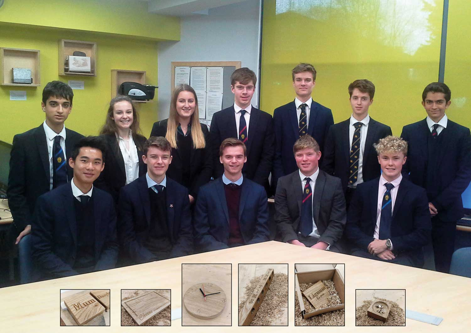 Young Enterprise group win high praise for their business ...
